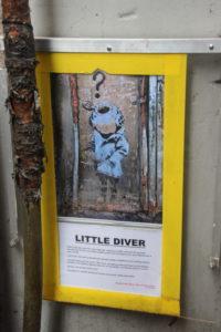 Little Diver von Banksy