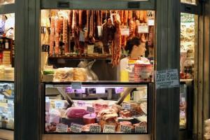 Queen Victoria Market Food Stand