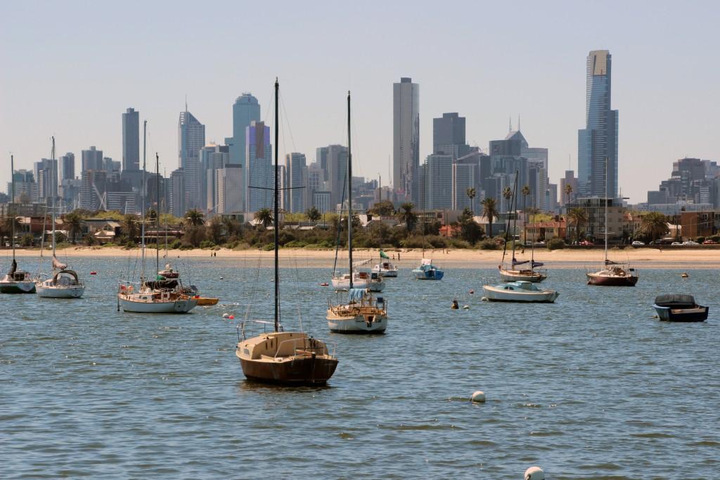 St. Kilda Aussicht Melbourne